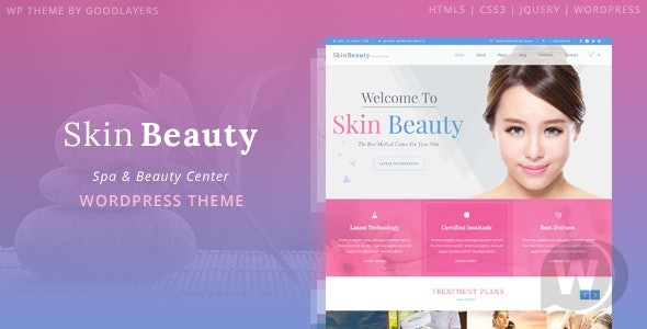 Skin Beauty v1. 3. 1-WordPress theme for spa salon