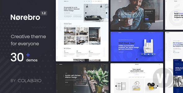 Norebro v1. 5 . 3-Creative WordPress template