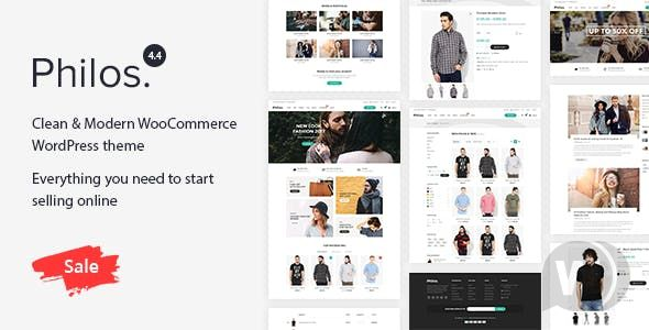 Philos v5. 5-Responsive WordPress theme for WooCommerce