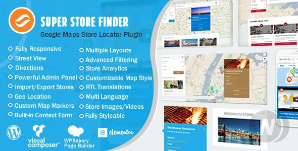 Super Store Finder for WordPress v6. 5 – search for stores on WordPress