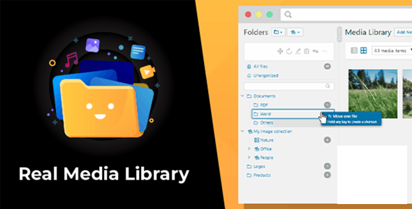 Real Media Library v4. 13. 7 NULLED – Advanced WordPress media editor