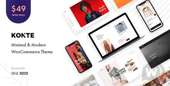 Konte v2. 0. 1-Modern WooCommerce WordPress theme
