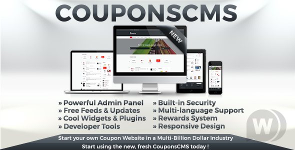 Coupons CMS 7.10 – CMS of the coupon site