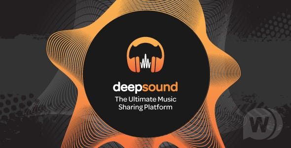 DeepSound v1.3.4 NULLED – a platform for sharing music in PHP
