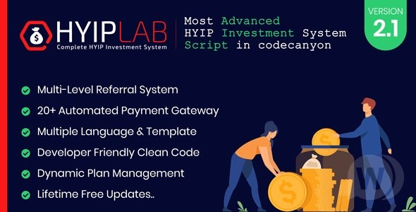 HYIPLAB v2. 1 NULLED-HYIP Investment System