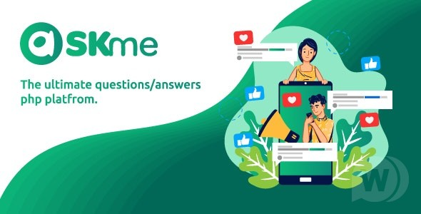 AskMe v1. 2 NULLED – Social network for PHP questions and answers