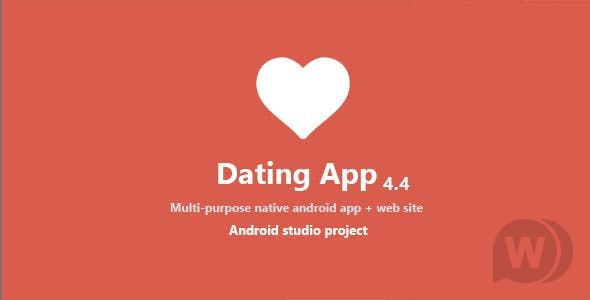 Dating App v5.5.1 NULLED-Android, iOS dating app