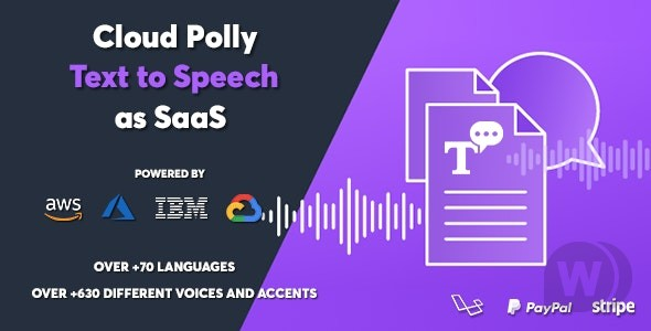 Cloud Polly v1.0.1 NULLED – Ultimate Text to Speech as SaaS