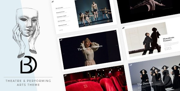 Bard v1. 4-WP theme of theater and art