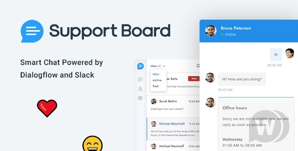 Support Board PHP v3.3.4-chat and ticket script