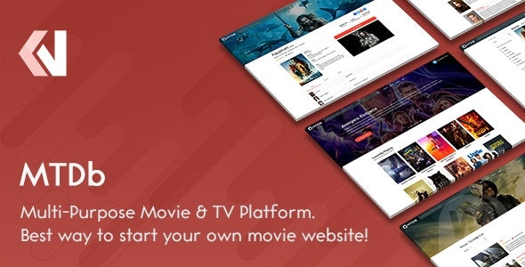 MTDb v3.2.4-website script with movies and TV shows
