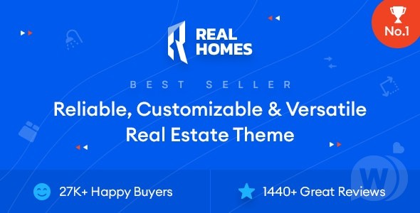 Real Homes v3. 15. 0 NULLED-Real Estate WordPress Template