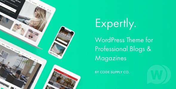 Expertly v1.8.0 NULLED – theme for WordPress blogs and magazines