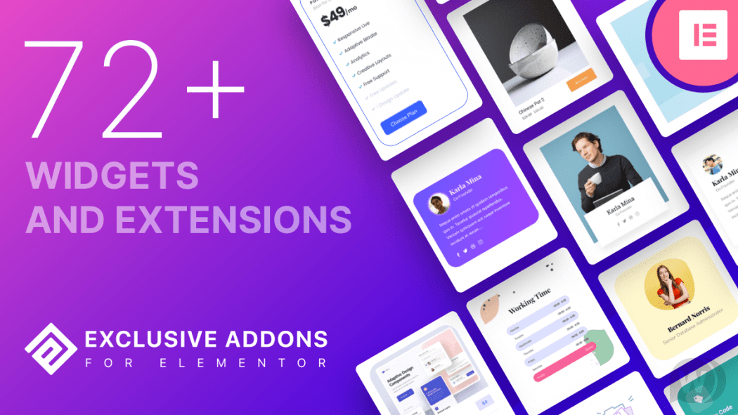 Exclusive Addons Elementor Pro v1.3.2 NULLED