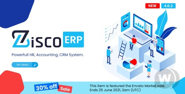 ZiscoERP v4.0.5 – a powerful personnel management system, accounting, CRM