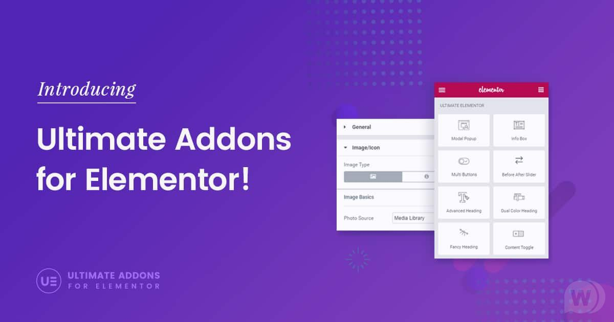 Ultimate Addons for Elementor v1.34.1 NULLED – widgets and modules for Elementor